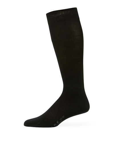 Wool-Blend Knee-High Socks