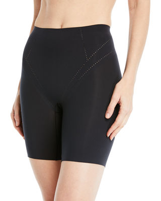 Air Long-Leg Shaper Shorts in Black