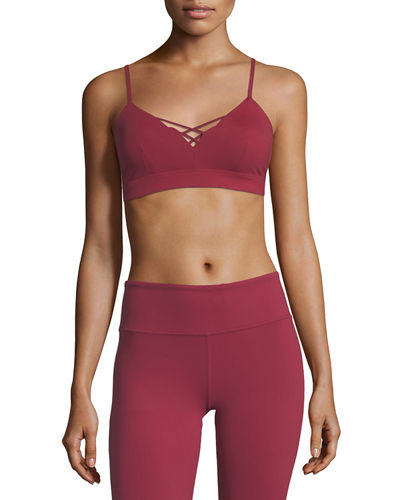 Interlace Performance Sports Bra
