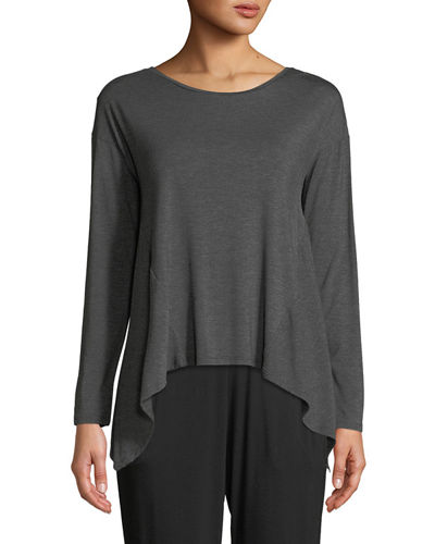 Feathers Elements Long-Sleeve Lounge Top