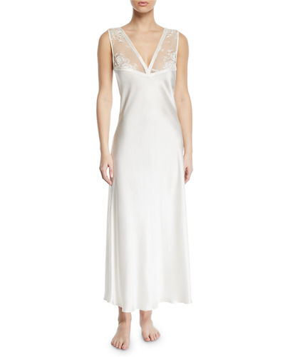 Samui Lace V-Neck Nightgown