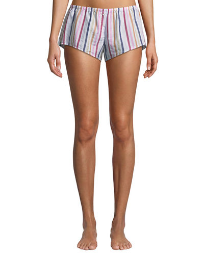 Shyla Striped Poplin Shorts