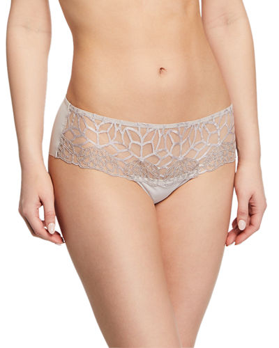 Java Lace-Trim Boyshorts