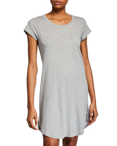 Oksana Pocket Jersey Sleepshirt