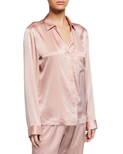 Renata Silk Pajama Top