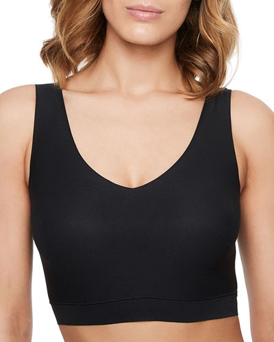 Soft Stretch Padded Crop Top Soft Bra