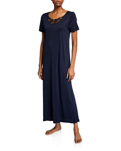 Flora Short-Sleeve Nightgown