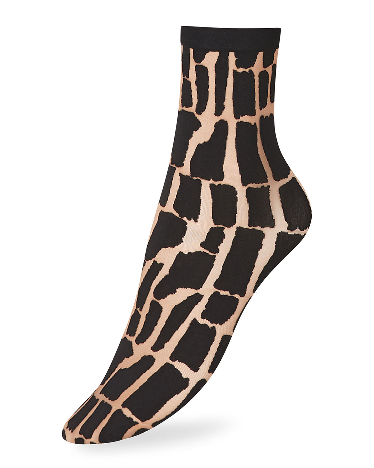 Wolford Socks SHIELD GRAPHIC ANKLE SOCKS