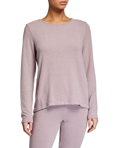 Kaia Round-Neck Lounge Top