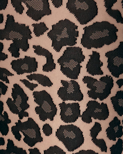 Leo Leopard-Pattern Tights