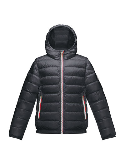 Athenes Hooded Down Jacket, Size 8-14