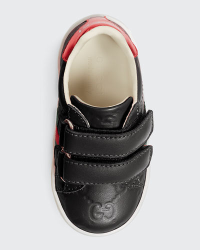 GG Supreme Leather Sneaker, Kids