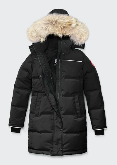 171f0748ca6 Youth Juniper Parka w/ Removable Fur Trim XS-L Quick Look. BLACK. Canada  Goose