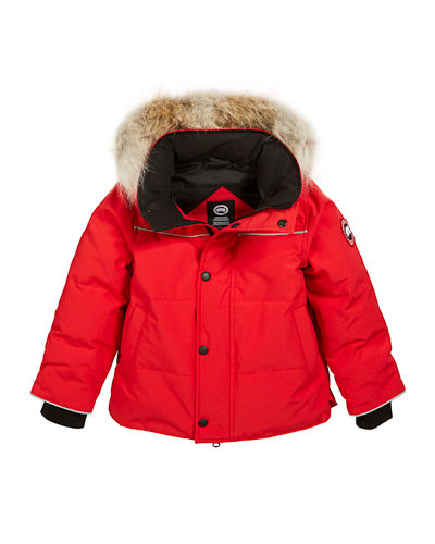 Kids' Snow Owl Parka w/ Removable Fur Trim  Size 2T-7