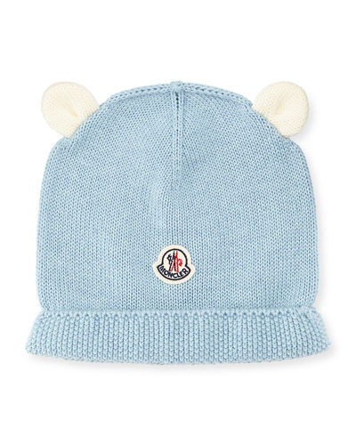 Berretto Animal Ears Knit Beanie Hat, Infant