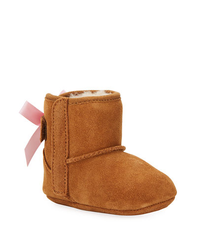 Jesse Bow II Suede Bootie  Infant