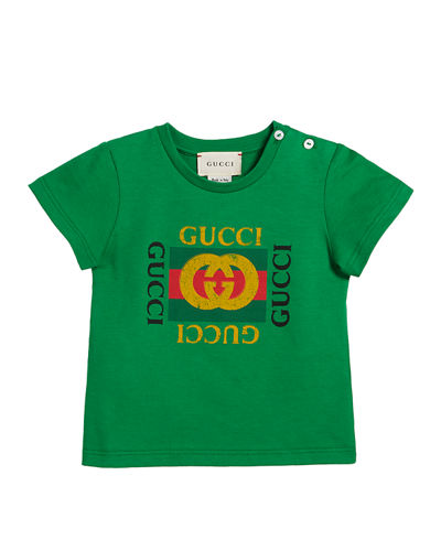f2015f91b Short-Sleeve Vintage Logo T-Shirt, Size 3-36 Months Quick Look. Gucci