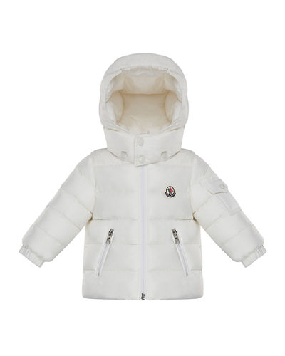 Moncler Jules Puffer Jacket w/ Hood, Size 12M-3T