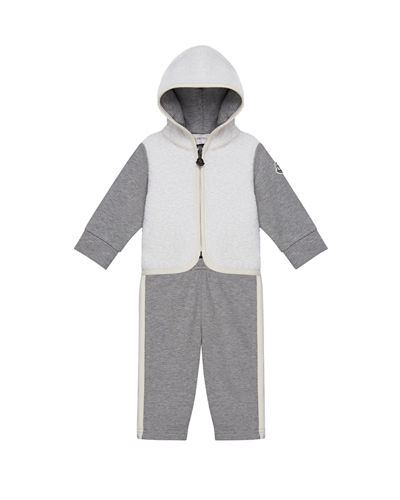 Hooded Zip-Up Jacket w/ Matching Pants, Size 6M-3