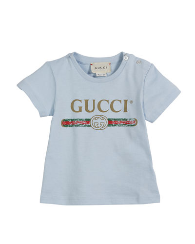 5e26b9632 Short-Sleeve Vintage Logo Tee, Size 3-36 Months Quick Look. Gucci
