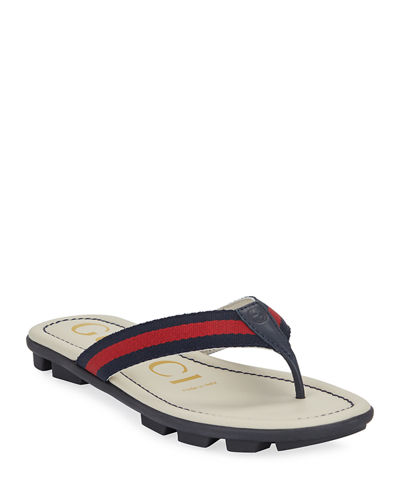 Titan Web & Leather Sandals  Toddler/Kids