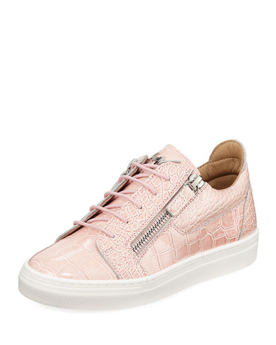 1f6a327d4f119 Selma Snake-Embossed Leather Low-Top Sneaker, Toddler Quick Look. Giuseppe  Zanotti