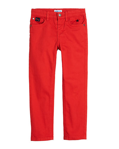 Stretch Twill Trousers, Size 4-7