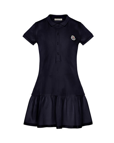 Short-Sleeve Polo Dress  Size 8-14