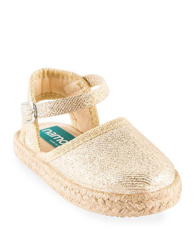Cotton Canvas Espadrille, Toddler