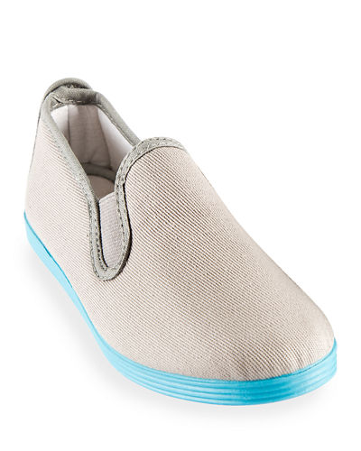 Slip-On Canvas Sneakers, Toddler/Kids
