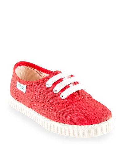 Lace-Up Canvas Sneakers, Toddler/Kids