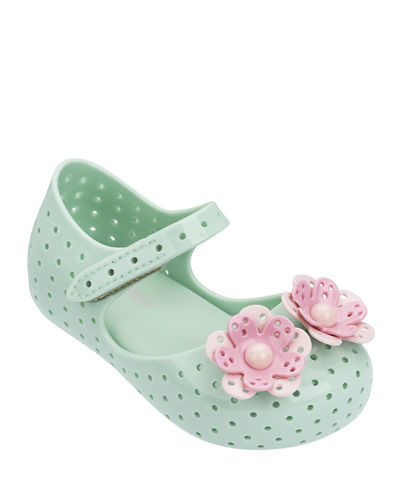 Furadinha Perforated Flower Mary Jane  Baby/Toddler/Kids