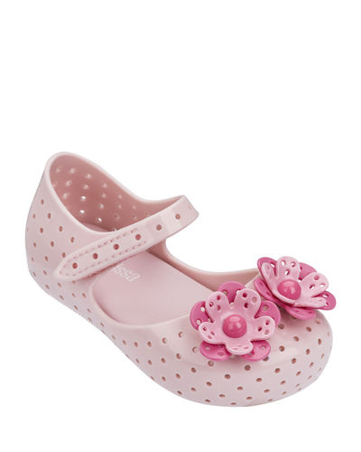 Furadinha Perforated Flower Mary Jane, Baby/Toddler/Kids