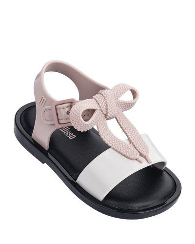 4dc1e10fd Mar Shoelace Bow T-Strap Sandal Baby Toddler Kids