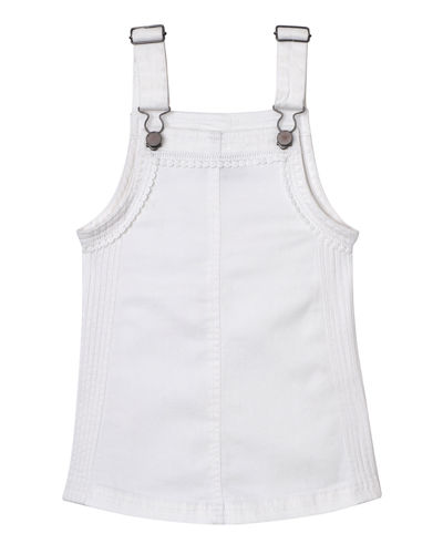 Penelope Overall Pinafore Dress, Size 3-6X