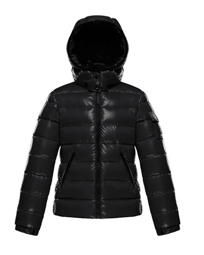 Bady Laque Mini Me Quilted Hooded Puffer Jacket, Size 8-14