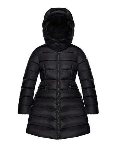 Charpal Detachable-Hood Puffer Coat, Size 4-6