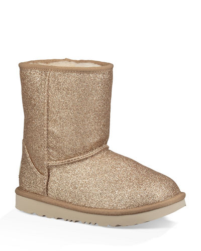 Girl's Classic Short II Glitter Boots, Baby/Toddler