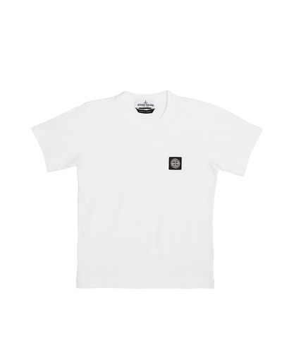 Boy's Logo Patch Short-Sleeve Tee, Size 6-8