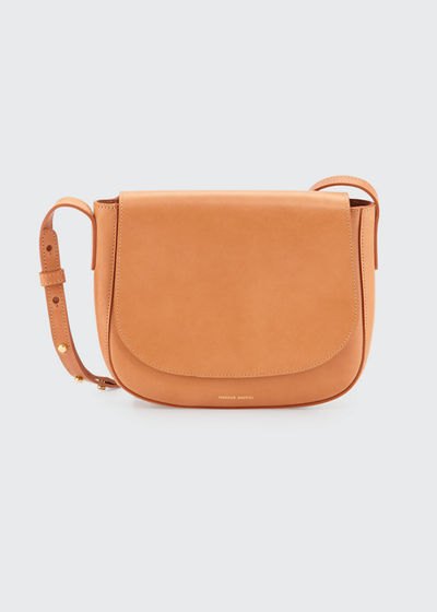 ec234e2c6988 Mansur Gavriel Vegetable-Tanned Leather Crossbody Bag