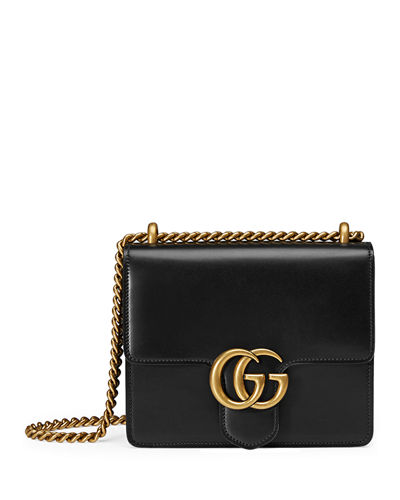 a13001fdbc Gucci GG Marmont Small Leather Shoulder Bag
