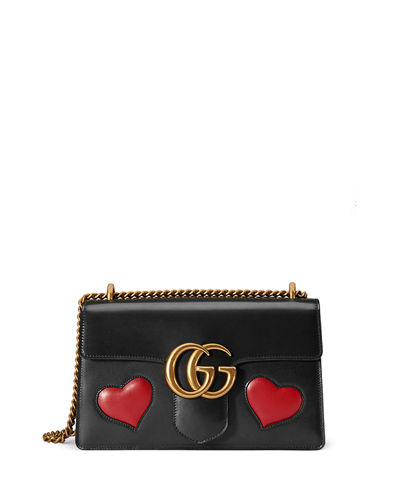 GG Marmont Medium Heart Shoulder Bag
