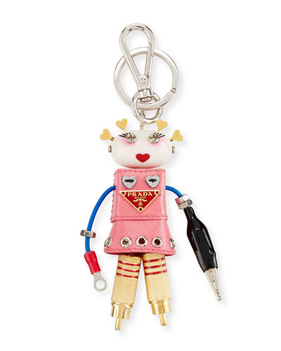 Cheap Real Eastbay Prada robot keyring Popular For Sale Cheap Sale Inexpensive Cheap Sale Pictures Best Cheap Price quX1kAJ