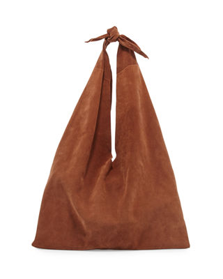 Bindle suede bag The Row