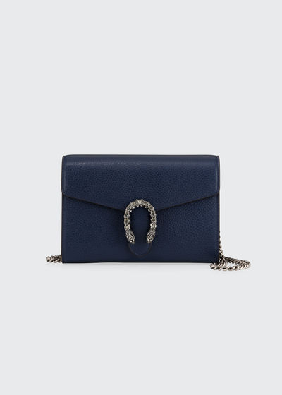 Dionysus Leather Mini Chain Bag