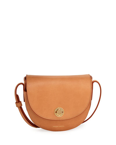 Mini Leather Saddle Bag