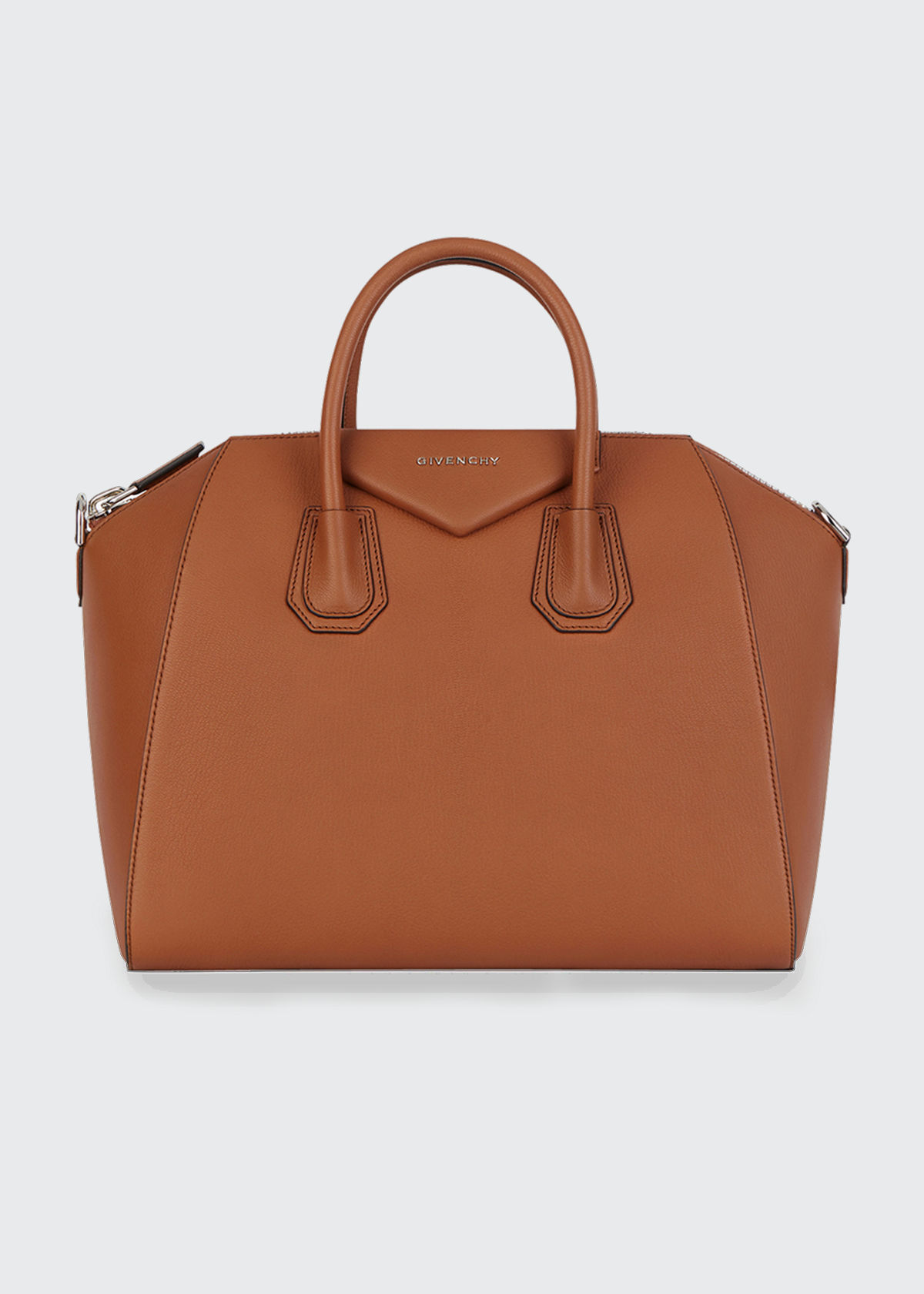 Givenchy Bags ANTIGONA MEDIUM SUGAR GOATSKIN SATCHEL BAG