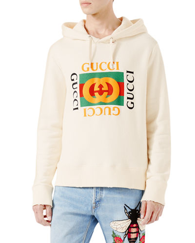 Cotton Sweatshirt w/Logo Print