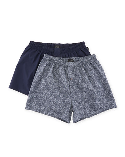 Fancy Woven Boxer 2-Pack Set