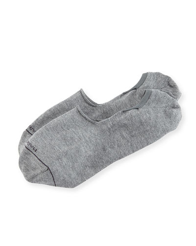 Invisible Touch Solid No-Show Socks